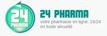 Offres et les réductions chez 24Pharma